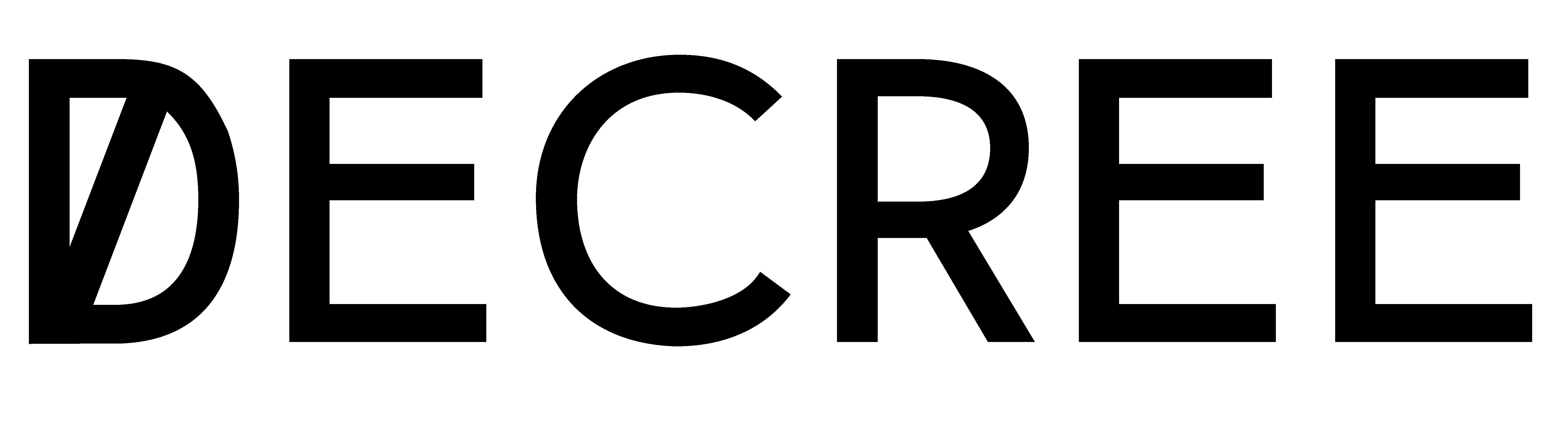 Decree Magazine logo